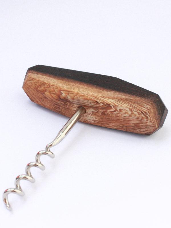 Tire bouchon wengé avec aubier