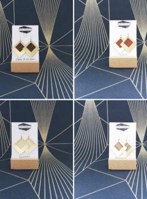 Boucles Sierra carrées