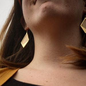 Boucles d'oreilles Sycomore