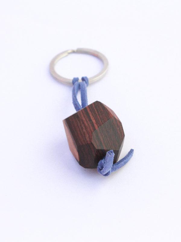porte clefs bois de violette