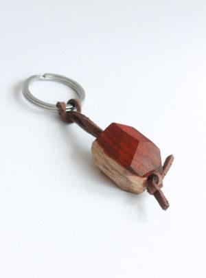porte clefs padouk