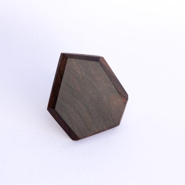 Bague en bois de fer